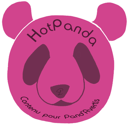Logo des HotPandas, contenu pour Pand'Avertis