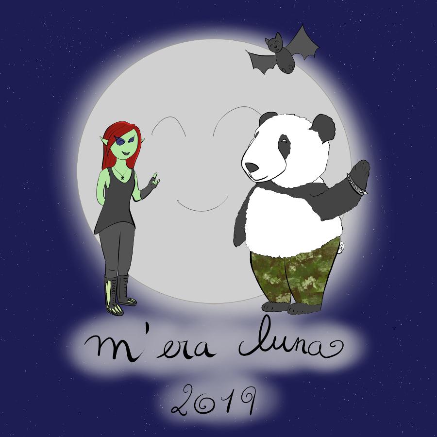 Même contenu mais version 2019, illustration de petit lutin artiste en 2018 en l'honneur du mera luna.