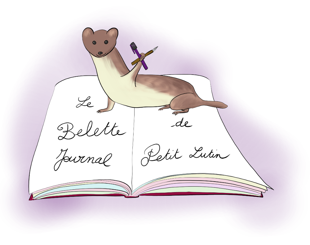 Le Belette Journal, c'est le bullet journal de Petit Lutin