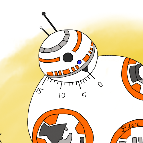 illustration de BB-8