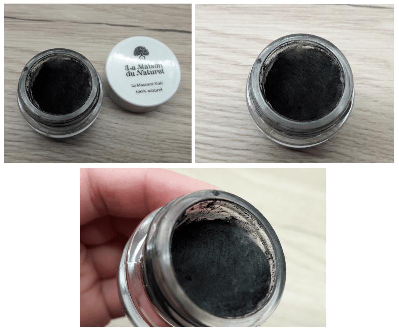 photo du mascara : de la moisissure est apparue à l'intérieur du pot