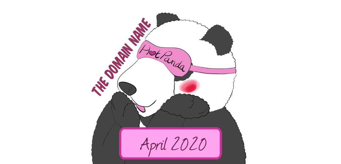 hotpanda26, april 2020 : the domain name