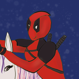 deadpool licorne illustration